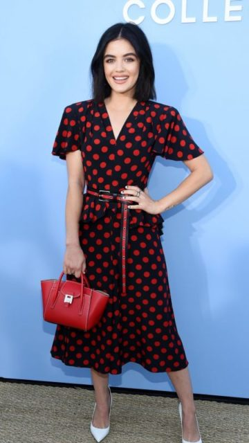 Lucy Hale – Michael Kors Fashion Show in NY