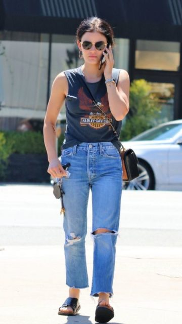 Lucy Hale – Out in LA