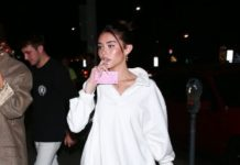 Madison Beer – Leaving Matsuhisa in LA