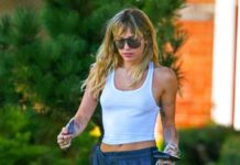 Miley Cyrus – Out in Los Angeles