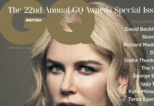 Nicole Kidman – GQ Magazine UK October 2019 Issue