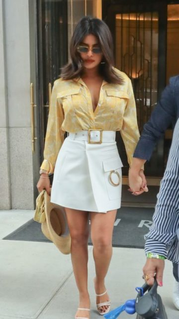 Priyanka Chopra and Nick Jonas – Out in NYC
