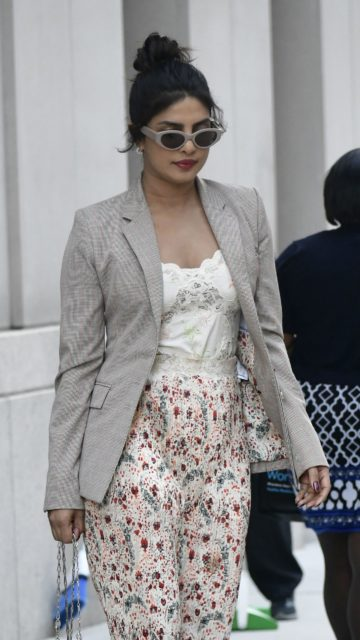 Priyanka Chopra – Heading to the US Open