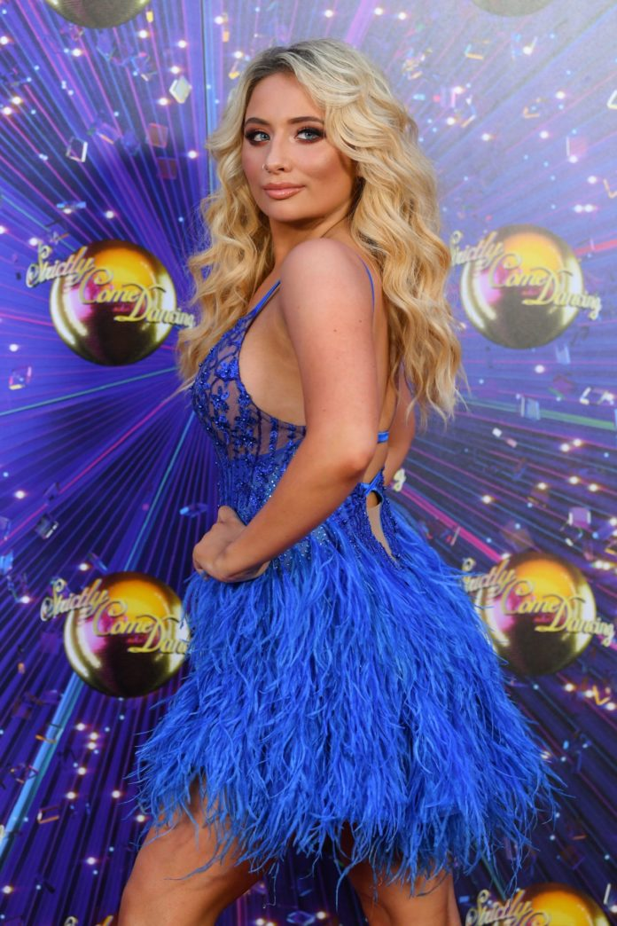 """Saffron Barker – """"Strictly Come Dancing"""" TV Show Launch in London"""