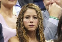Shakira and Gerard Piqué – U.S. Open Tennis Championships in NY