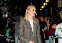 Sophie Turner Night Out Style – Exit John Varvatos Villa One Tequila Launch Party in New York
