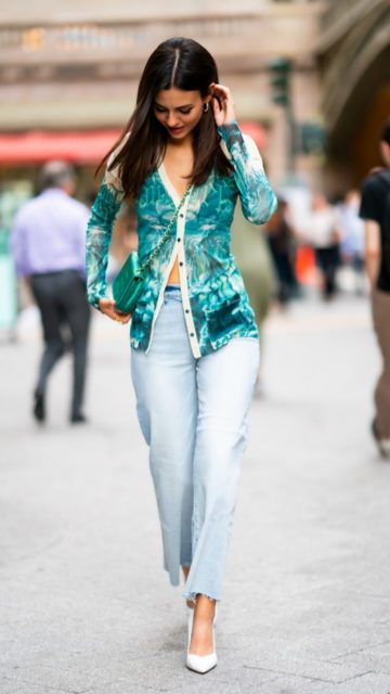 Victoria Justice Street Style – Out in NYC