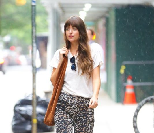 Dakota Johnson – Out in New York City