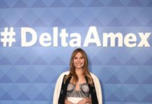 Elizabeth Olsen – #DeltaAmex Card Relaunch in NYC