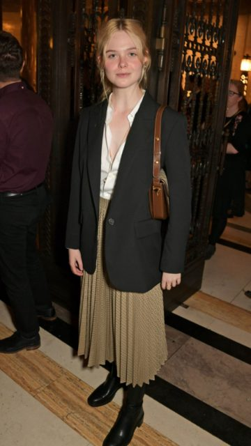 Elle Fanning – The Academy Of Motion Pictures Arts And Sciences 2019 New Members Party in London