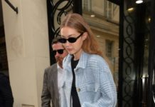 Gigi Hadid – Leaves Chanel Store in Paris