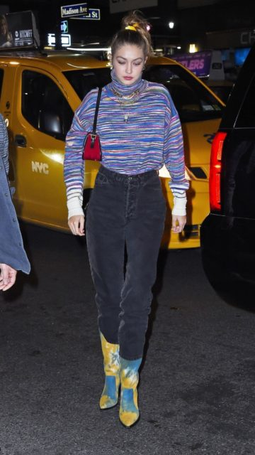 Gigi Hadid – Leaving the SNF After-Party in NYC