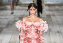 Kaia Gerber Walks Alexander McQueen Show in Paris