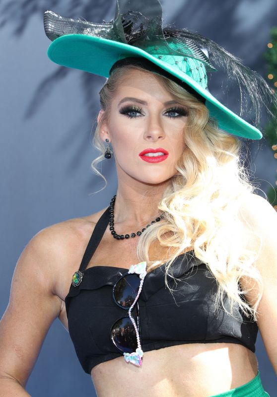 Lacey Evans – WWE 20th Anniversary Celebration in LA