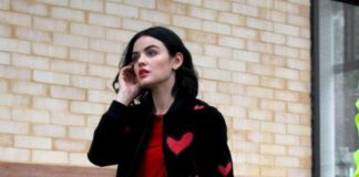 "Lucy Hale – Filming ""Katy Keene"" in Brooklyn"