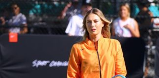 Maria Sharapova – Nike Queens of the Future Tennis Event in New York