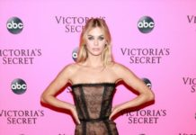 Megan Williams –Victoria's Secret Viewing Party in NYC