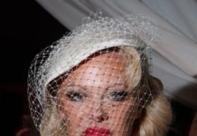 Pamela Anderson – Vivienne Westwood Show at Paris Fashion Week