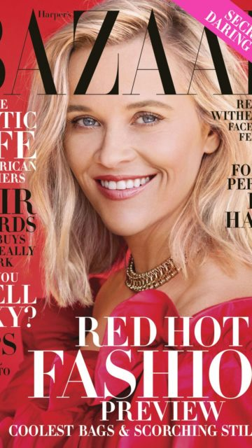 Reese Witherspoon – Harper's BAZAAR Magazine November 2019 Issue