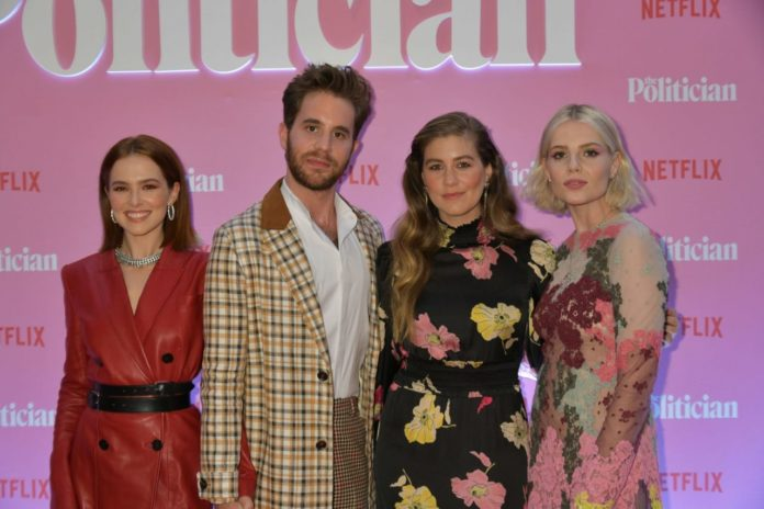 "Zoey Deutch – Netflix Special Screening of ""The Politician""in London"