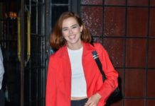 Zoey Deutch – Outside The Bowery Hotel in NYC