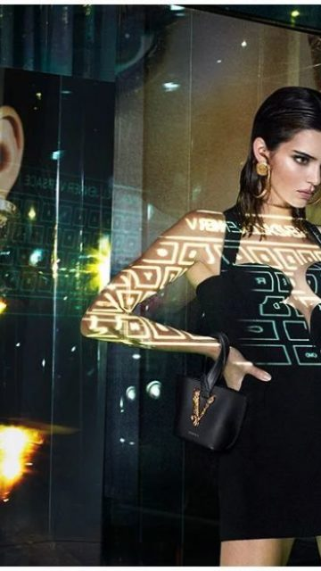 Kendall Jenner In Versace Spring/Summer 2020 Campaign
