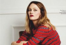 Vanessa Paradis In ELLE Spain May 2020 Issue