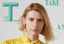 Claire Danes Cover Photo On T Magazine Singapore May 2020