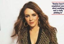 Elizabeth Hurley In Hello! Magazine UK April 2020 Issue