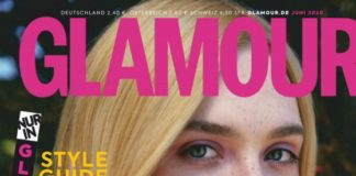 Elle Fanning In Glamour Magazine Germany June 2020 Issue