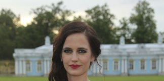 Eva Green In Mariinsky Ball of Montblanc White Nights