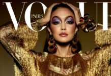 Gigi Hadid In Vogue Paris May/June 2020 Cover