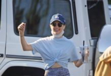 Lucy Hale Step Out in Studio City