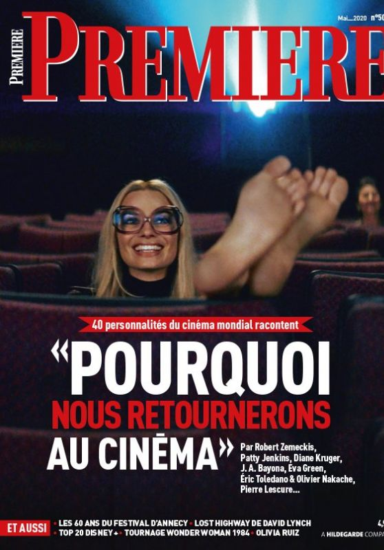 Margot Robbie In Premiere Magazine France May 2020 Cover